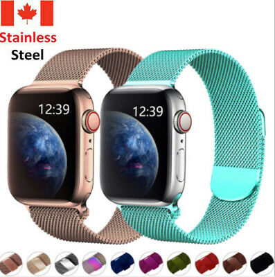 $ CDN10.99 • Buy Magnetic Milanese Band Bracelet Strap For Iwatch Apple Watch Series 1 2 3 4 5