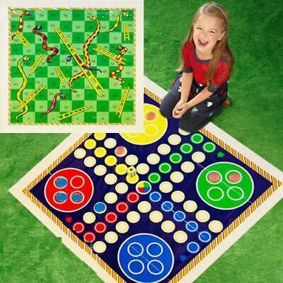 Giant Ludo Play Mat Board Traditional Childrens Game • 4.99£