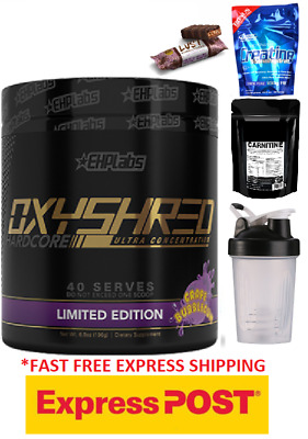 AU69.70 • Buy EHPlabs Oxyshred Hardcore Thermo Fatburner Oxy Shred  Limited Edition Stronger
