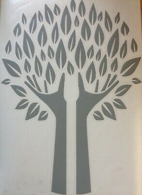 Hand Tree With Leaves 18 Colours, Vinyl Stickers Decal,wall Art  • 3.99£