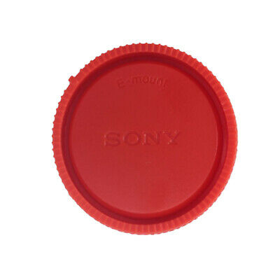 AU2.57 • Buy Red Rear Lens Cap Cover For Sony E-Mount NEX Camera