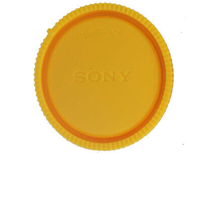 AU2.57 • Buy Yellow Rear Lens Cap Cover For Sony E-Mount NEX Camera
