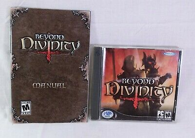 $2.24 • Buy Beyond Divinity 2004 Hip Games PC Game Rated M Disk & Manual