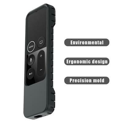 AU9.15 • Buy Silicone Protective Case Cover For Apple TV 4 Remote Control(Black)