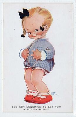 I'SE GOT LODGINGS TO LET : Artist Postcard By Mabel Lucie Atwell (C45823) • 6£