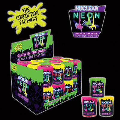 AU15.99 • Buy Nuclear Neon Slime 120 Grams Tub 1 Pc Glow In The Dark Black Light Reactive Toy