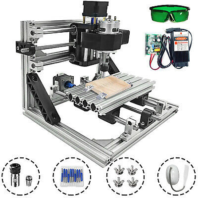AU301.06 • Buy 3 Axis CNC Router Kit 1610 5500MW Machine With Laser Engraver Milling DIY