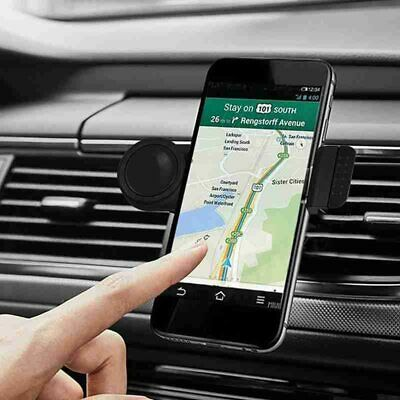 AU14.49 • Buy Universal Portable Car Holder Mount Air Vent Stand Cradle For Mobile Cell Phone