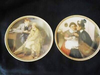 $ CDN45 • Buy 2 Norman Rockwell's Classics - Collector Plates By Edwin Knowles (1983)