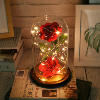 AU23.99 • Buy Led Light Red Rose Gift For Girlfriend Wife Birthday Valentine's Day Xmas Gift