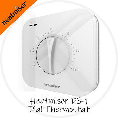 Heatmiser DS1 V2 Central Heating Dial Thermostat Conventional Or Combi-boiler  • 22.98£