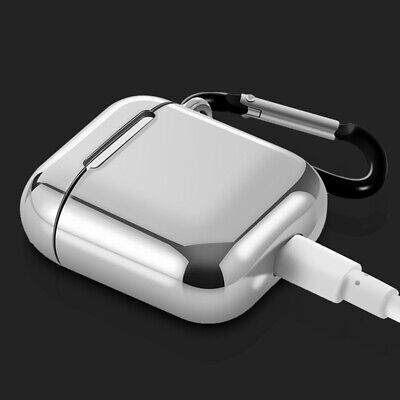 $ CDN11.08 • Buy AirPods Accessories Case Protective Silicone Cover Skin Strap For Apple Air Pod