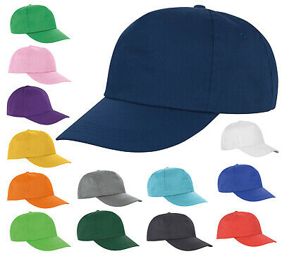 Adjustable Sport Peak Baseball Cap For Men Women Plain Printing Cap • 2.65£