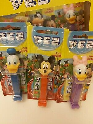 Pez Sweets Dispenser Disney Junior + 2 Refills/ Retro Sweets/party Bags/gift  • 2.99£