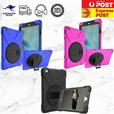 AU38.99 • Buy Heavy Duty Shockproof IPad Mini 4 5 Pro 11  Tab S5e A 10.5 Cover With Hand Strap