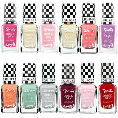 £3.85 • Buy Barry M Speedy Dry Instant Nail Paint Varnish Matte  * Choose Shade *