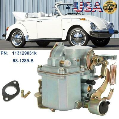 $60.27 • Buy Fits 1600cc 34 Pict-3 Type 1 Carb Carburetor Dual Port For Beetle Thing Bug