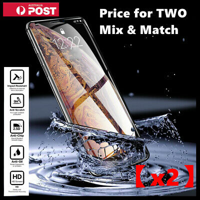 AU4.89 • Buy 2X Tempered Glass Screen Protector For IPhone 11 Pro 6s 6 7 8 PLUS X XR XS Max