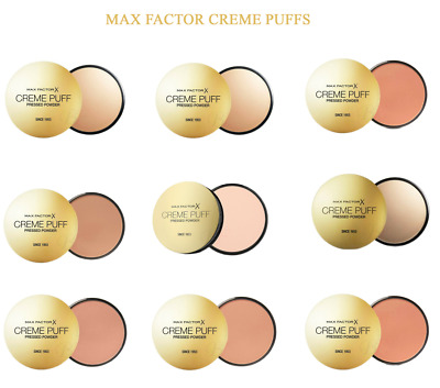 Max Factor Creme Puff Compect Pressed Powder Foundation - Up To 10% Off On Multi • 5.99£
