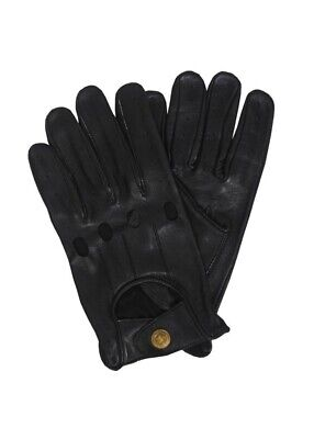 Retro Real Leather Men's Driving Fashion Gloves Unlined Chauffeur Gloves  • 6.99£