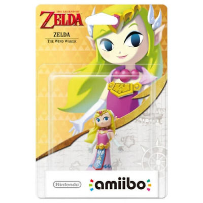 AU32.87 • Buy Amiibo Zelda (The Wind Waker) (The Legend Of Zelda Series) Brand New/Region Free