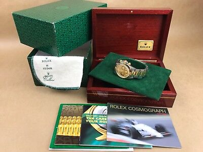 $ CDN16341.83 • Buy Rolex CosmoGraph Daytona 16523 ZENITH 1997 Mens Watch Wristwatch Chronograph