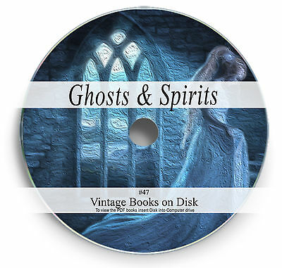 £3.90 • Buy Rare Books On DVD - True Ghost Hunter Stories Apparitions Spirits Hauntings 47