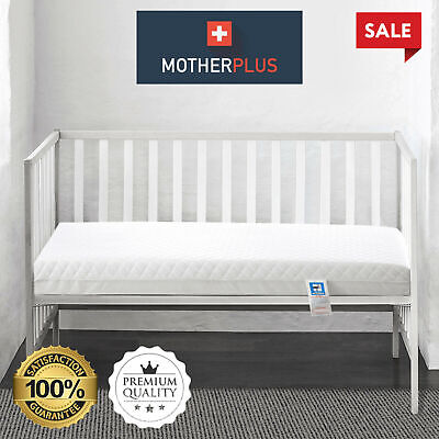 £29.99 • Buy MotherPlus™ Waterproof Baby Toddler Cot Bed Mattress Quilted Breathable & Thick