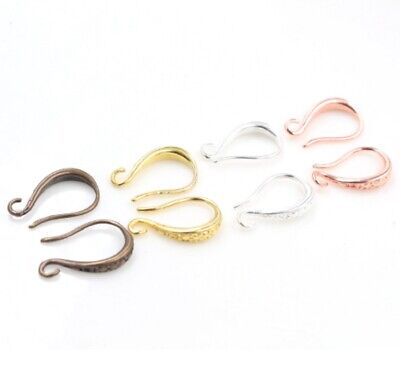 French Style Earring Hooks Blanks Clasps Jewellery Makings Findings Fittings UK • 3.29£