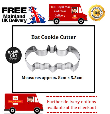 Batman Inspired Cookie Cutter Suitable For Sugar Craft, Fondant, Biscuits • 2.20£