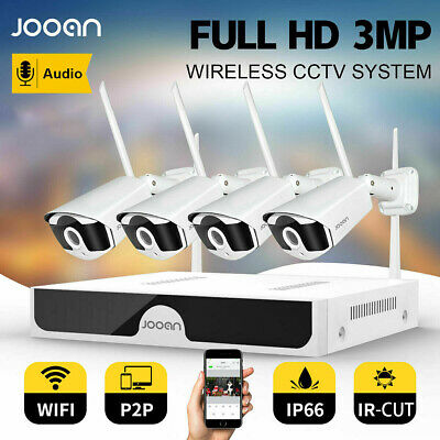 AU209.99 • Buy JOOAN 8CH 3MP Wireless Home CCTV Security Camera System IP WiFi NVR Outdoor IR