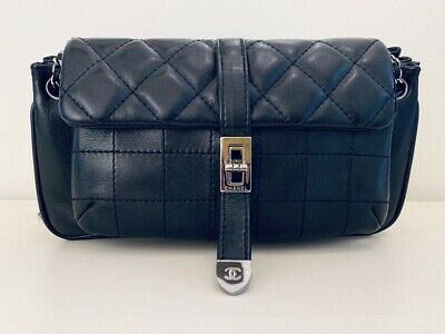 AU1685 • Buy AUTHENTIC Chanel Black Crossbody