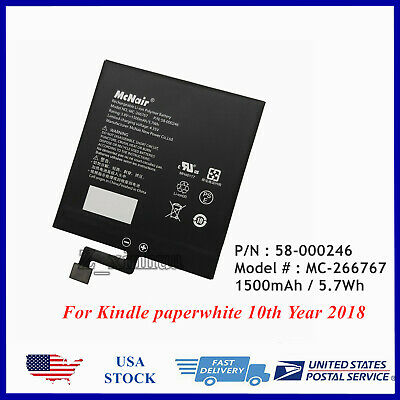 $23.60 • Buy New Genuine Battery For Amazon Kindle Paperwhite 4 PQ94WIF 10th Generation 2018