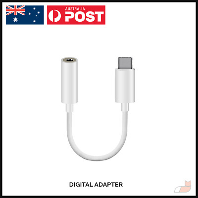 AU6.94 • Buy Digital DAC USB Type C Headphone Adapter Jack 3.5mm For Pixel IPad Pro Android