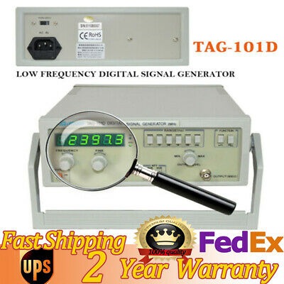 TAG-101D Digital Display 6Phases Function Signal Generator Machine 0.2Hz~2MHz US • 103.99$
