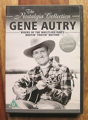 Gene Autry DVD 'The Nostalgia Collection' 2008 Double Feature  • 5£