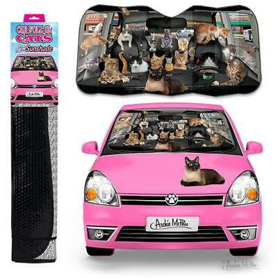 £24.95 • Buy Archie McPhee Car Full Of Cats Sunshade Novelty Vehicle Accessory Campervan Gift