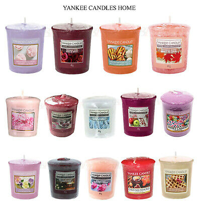 YANKEE VOTIVE CANDLES SAMPLER  HOME FRAGRANCE 49G - Buy 3 Get 3 Free - CHOICES • 4.49£