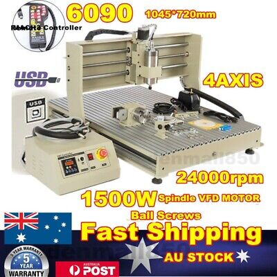 AU2960 • Buy USB 4 Axis 6090 CNC Router Engraving Machine Engraver Milling Metal + Controller