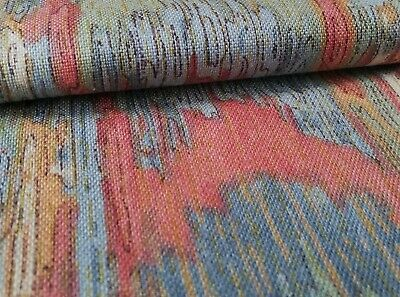 'Quetta' By Crowson, Vintage Cotton Soft Furnishing Fabric From The 1980's • 8.99£