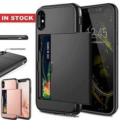 AU5.99 • Buy IPhone X XS Max XR IPhone 8 Plus IPhone 7 Plus MC Wallet Card Holder Case Cover