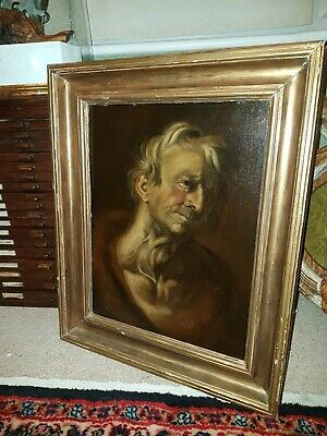 Fine Large 17th Century Italian Old Master Male Portrait Antique Oil Painting • 1,475£