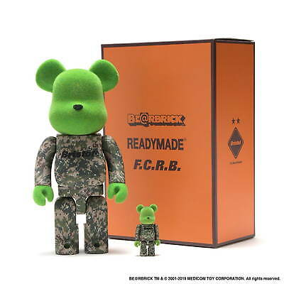$299 • Buy Medicom 400% + 100%  READYMADE X F.C.Real Ristol FCRB Soph Bearbrick (in Hand)