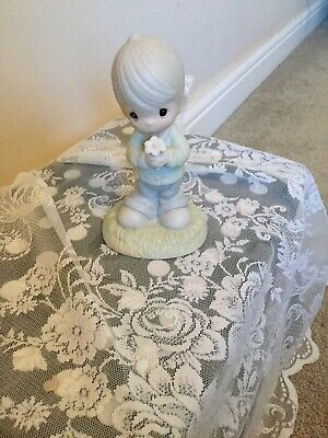 1987 Adorable Enesco Precious Moments Mommy I Love You Figurine-#109975 • 15£