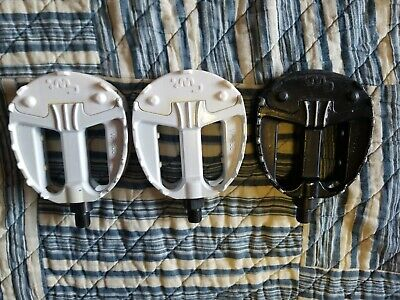 $ CDN468.68 • Buy 3 80s BMX CW RACING 1/2  Pedals HUTCH 87 CW SHAKER 2 Look NOS White&1 Used Black