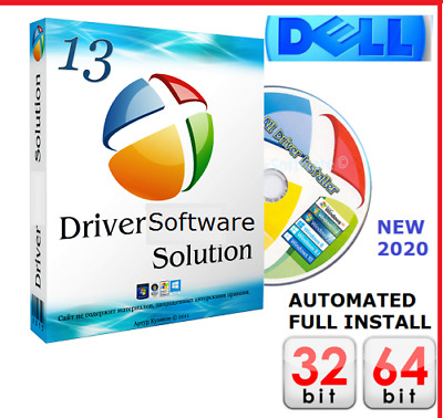 DELL Windows PC & Laptop DRIVERS DVD Recovery|Restore|Install XP|Vista|7|8|10 UK • 1.89£