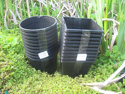 5 X 11cm New Square Plastic Aquatic Pots Baskets For Water Plants And Pond  • 7.75£
