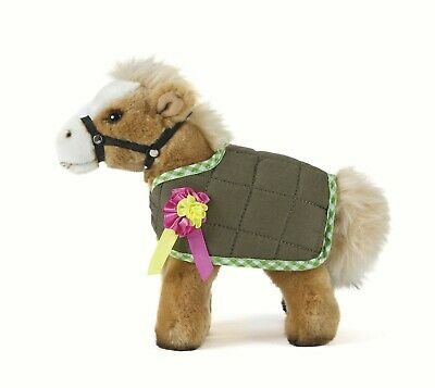 £15.99 • Buy Plush Living Nature Horse With Jacket An351 Soft Cuddly Realistic Plush Pony Toy