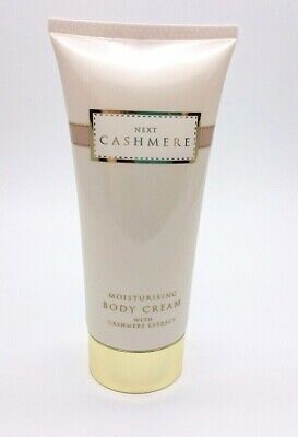 New - NEXT Cashmere Fragrance Moisturizing Body Cream + Cashmere Extract 200ml • 32£
