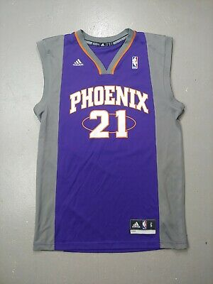 $ CDN20 • Buy Phoenix SUNS ADIDAS Jersey SMALL Purple NBA Basketball Tank Top #21 Martin